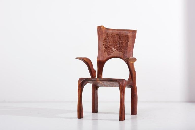One of a Kind Studio Charles B. Cobb Armchair, US, 1977 For Sale 6