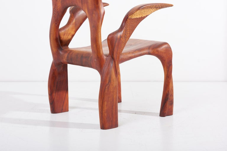 One of a Kind Studio Charles B. Cobb Armchair, US, 1977 For Sale 2