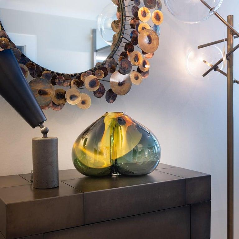 Modern One of a Kind Studio Glass Object