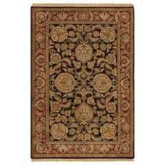 One of a Kind Traditional Handwoven Wool Area Rug