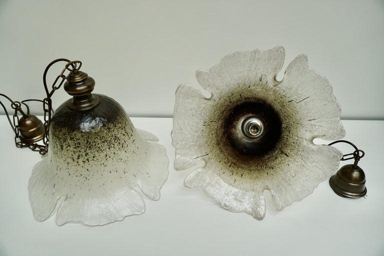 One of Six Italian Murano Glass Pendant Lights For Sale 10