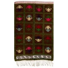 One of Kind Vintage Tulu Rug, circa 1970