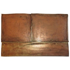 One of Kind Wall Art Panels Bronze by Eckehard Weimann