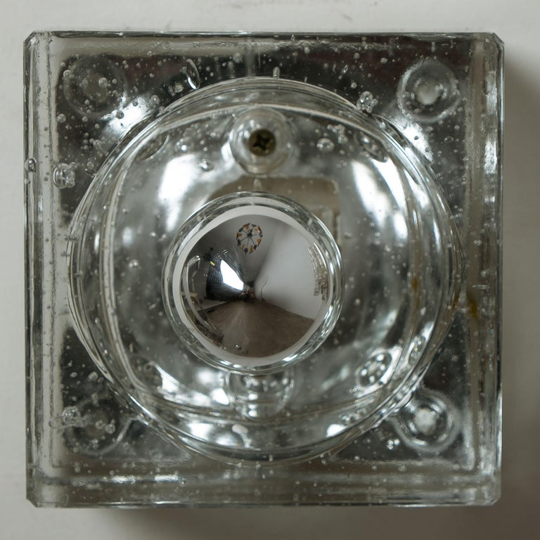 One of Seven Hand Blown Table, Wall or Ceiling Lights, Austria, 1960 For Sale 4