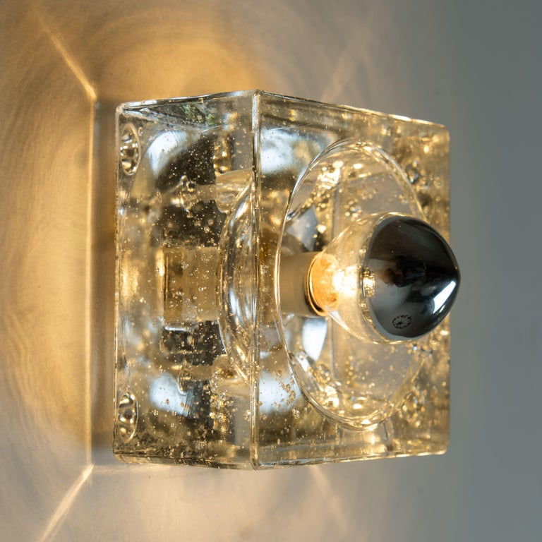 20th Century One of Seven Hand Blown Table, Wall or Ceiling Lights, Austria, 1960 For Sale