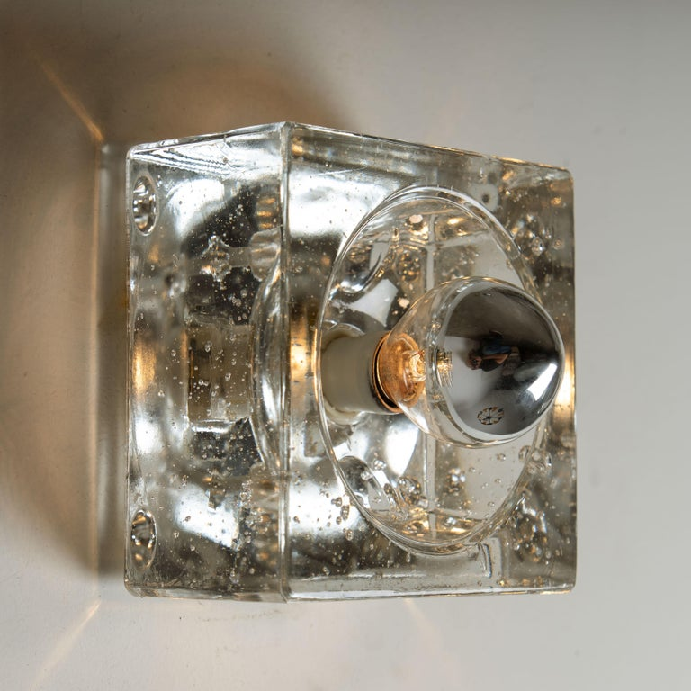 One of Seven Hand Blown Table, Wall or Ceiling Lights, Austria, 1960 For Sale 2