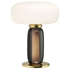 One on One Table Lamp by in Brass Burnished by Branch Creative