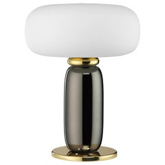 One on One Table Lamp in Polished Brass by Branch Creative