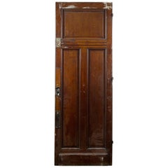 One over Two Reclaimed Tall Door, 20th Century
