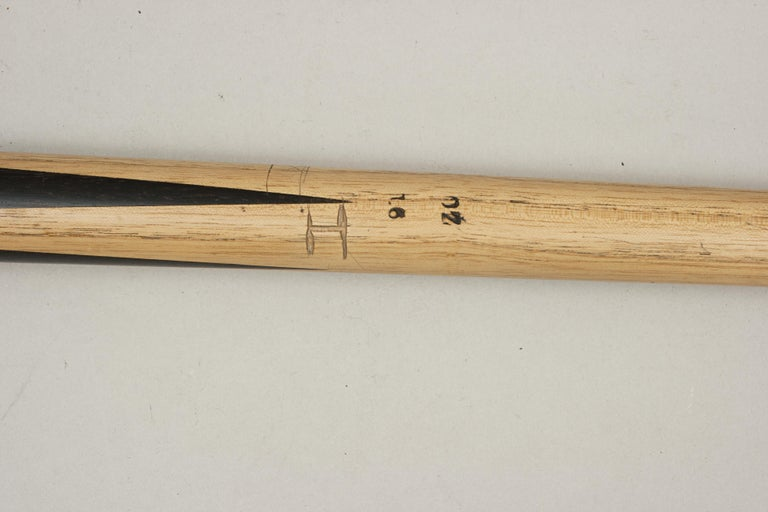 British One Piece Geo. Wright & Co. Billiard Cue, Snooker Pool Cue For Sale