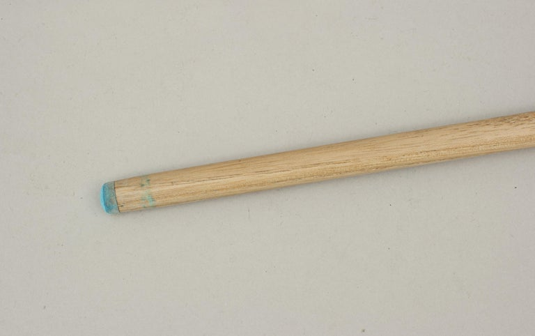 One Piece Geo. Wright & Co. Billiard Cue, Snooker Pool Cue For Sale 1