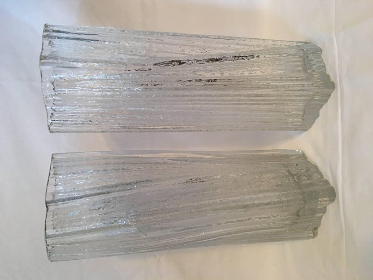 Modern One Set of Rosenthal Glass Vases by Martin Freyer For Sale