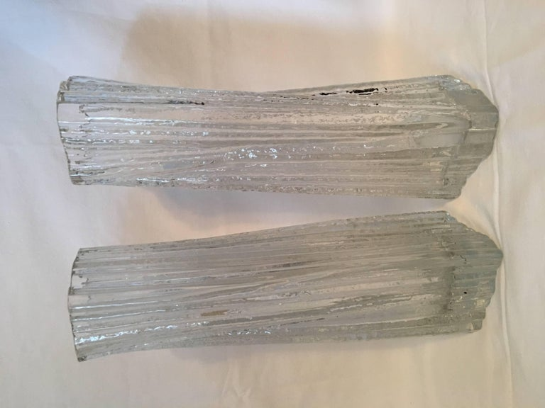 One Set of Rosenthal Glass Vases by Martin Freyer In Good Condition For Sale In Frisco, TX