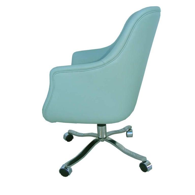Mid-Century Modern One Vintage Midcentury Zographos Alpha Desk Chair For Sale