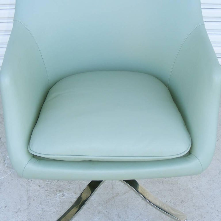 20th Century One Vintage Midcentury Zographos Alpha Desk Chair For Sale