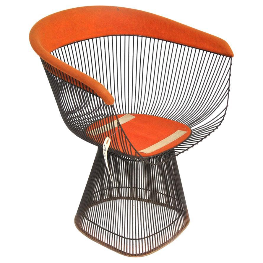 One Warren Platner Knoll Dining/Side Chair
