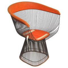 One Warren Platner Knoll Dining/Side Chair
