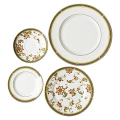 One Wedgwood Bone China Place Setting Dinner Plate Bread Plate and Saucer