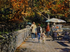 Looking Back, Oil Painting