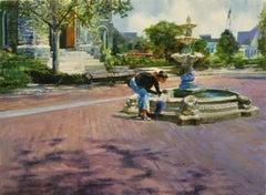 Luck And Faith, Oil Painting
