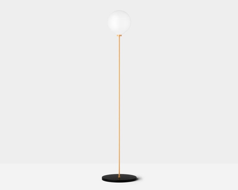 Onis, Contemporary Table Lamp, Brass and Marble 'Black' In New Condition For Sale In Paris, FR