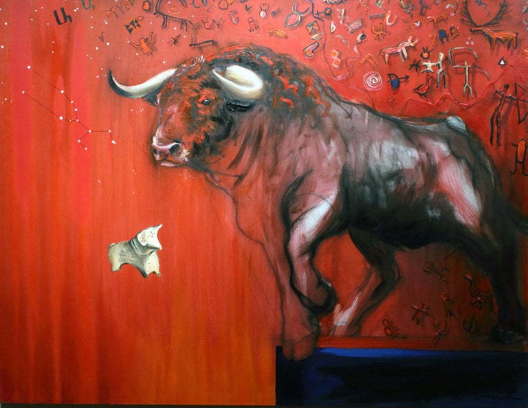 Onnik Karanfilian Animal Painting - Bull
