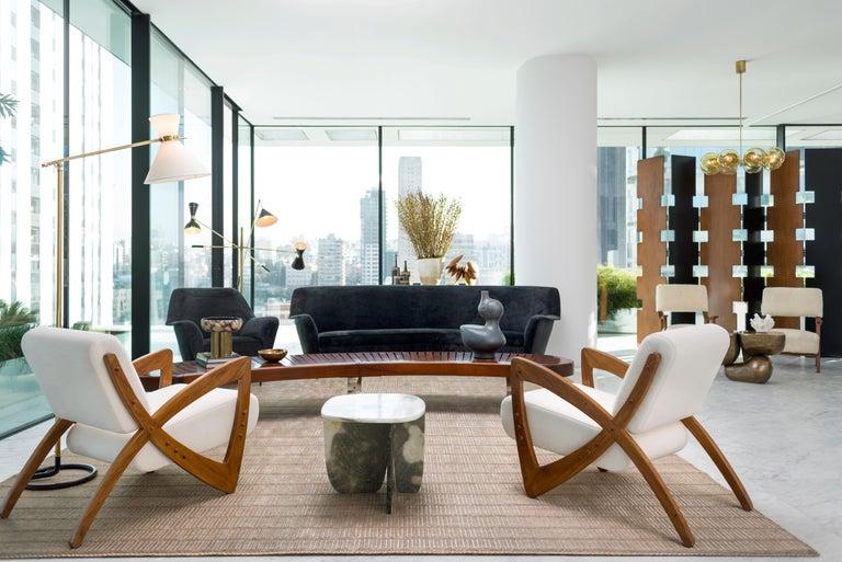 Post-Modern Onyx Coffee Table by Oskar Peet and Sophie Mensen For Sale