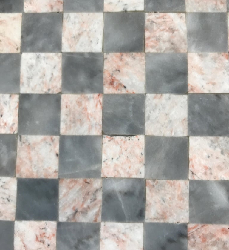 Mid-Century Modern Onyx Gameboard For Sale