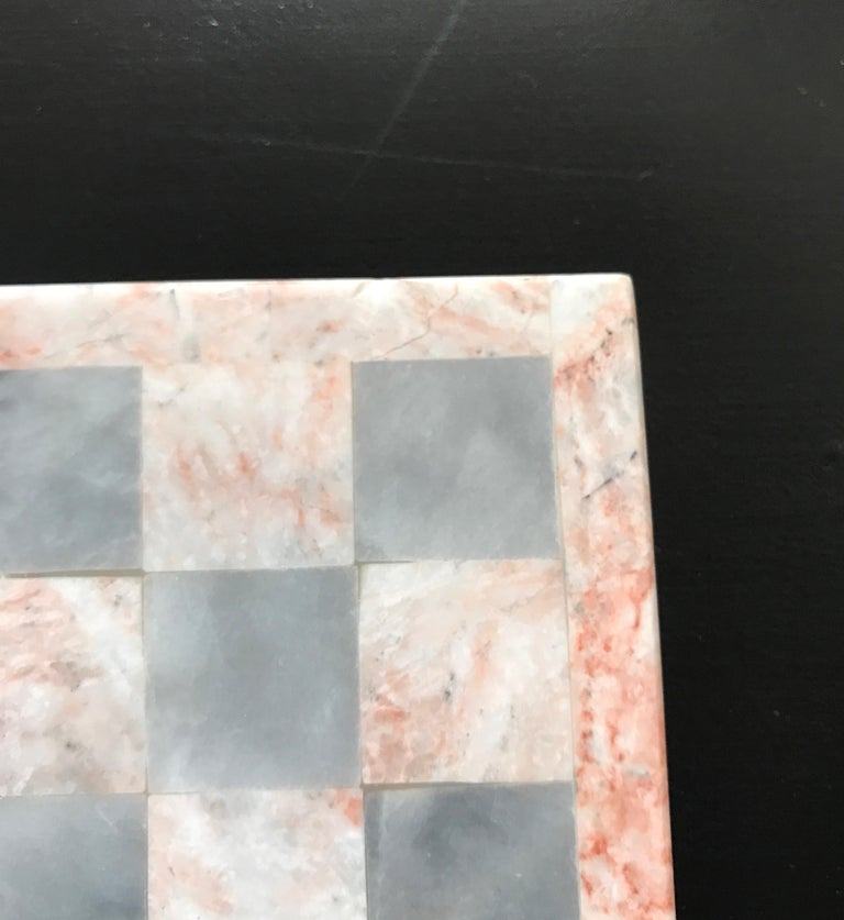 Carved Onyx Gameboard For Sale