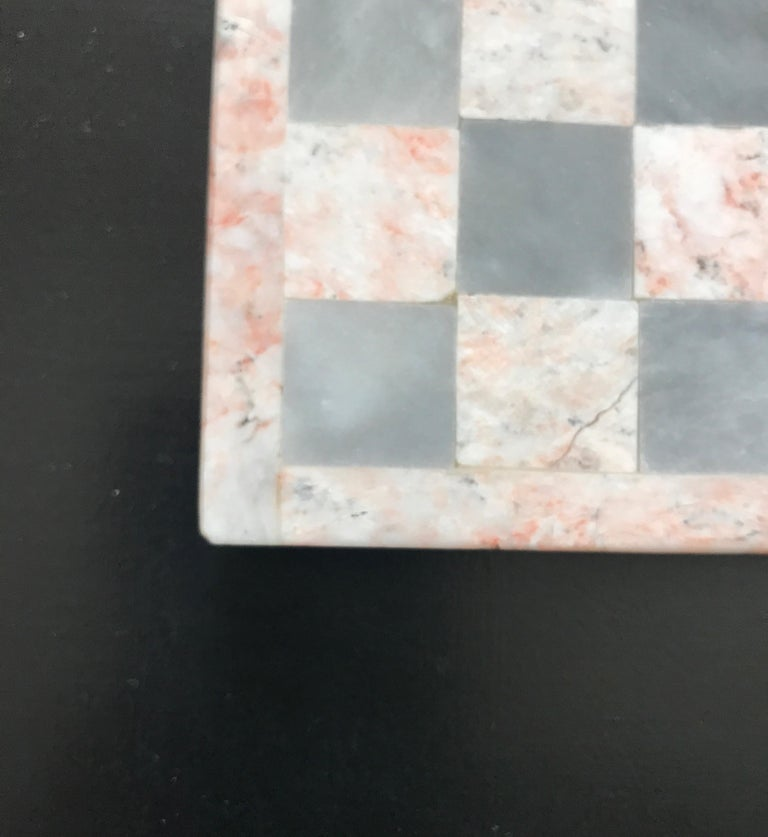 Mid-20th Century Onyx Gameboard For Sale