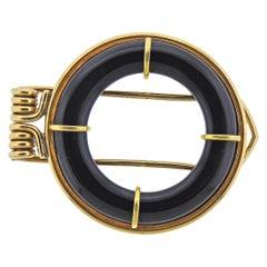 Onyx Gold Clip
