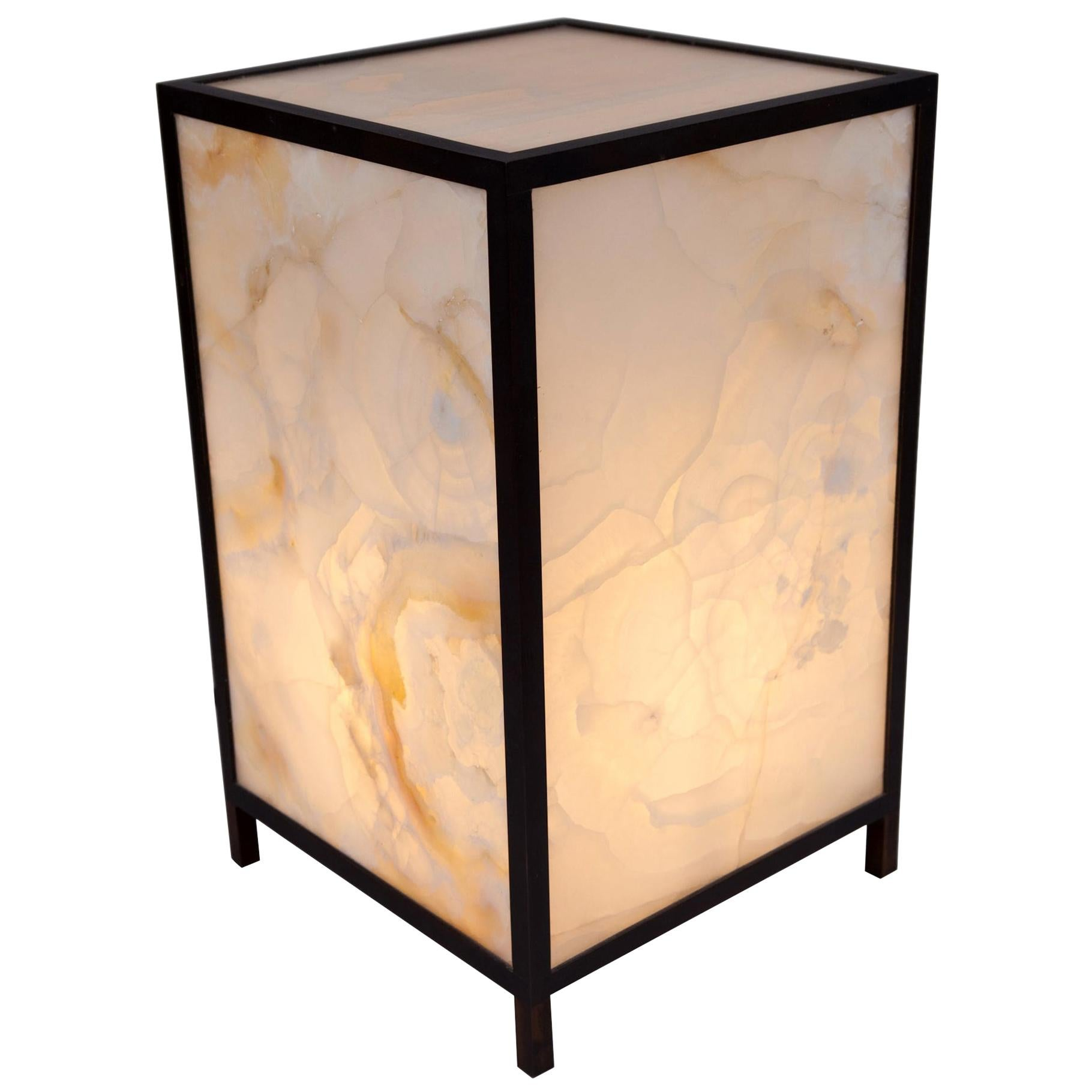 Onyx Table Lamp by Atelier Boucquet