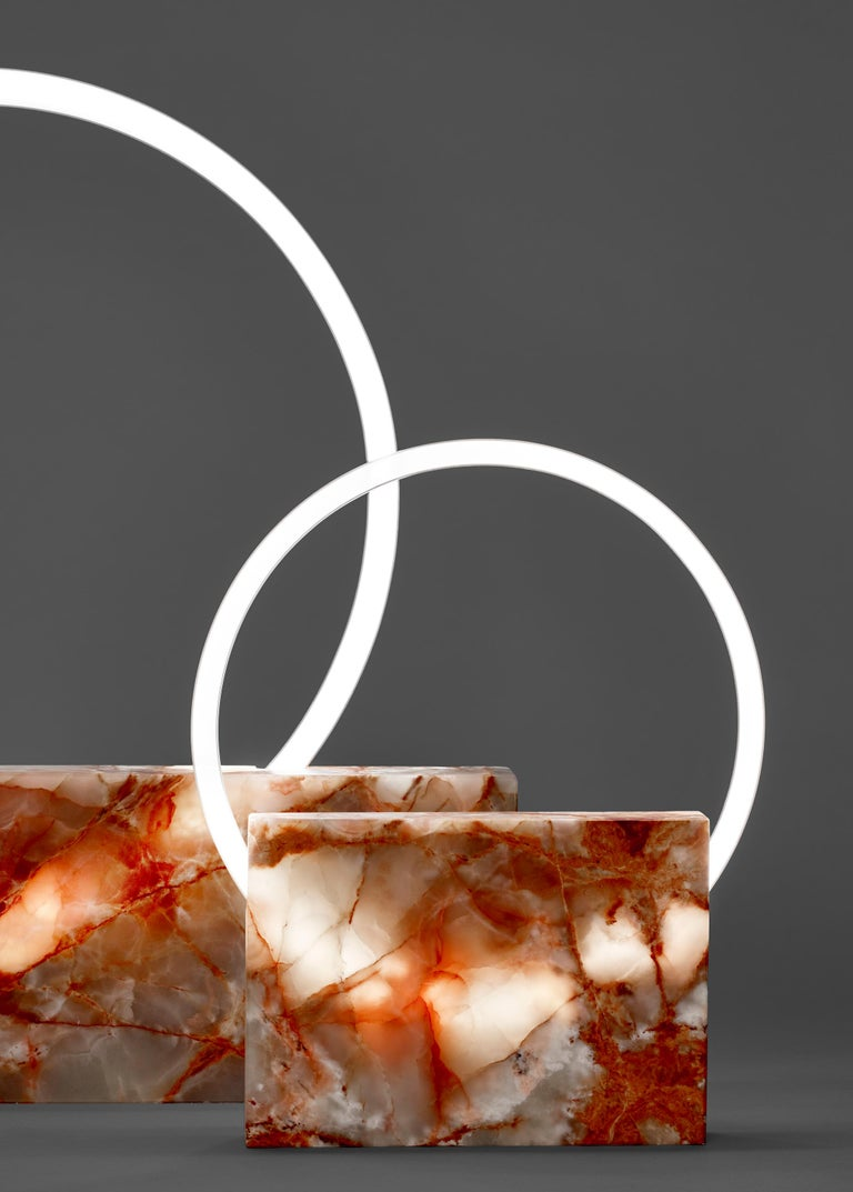 Onyx table lamp, Sabine Marcelis