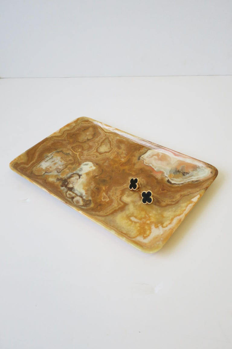 Unknown Onyx Tray or Vide-Poche For Sale