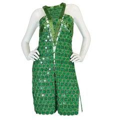 OOAK 2015 Peter Dundas for Pucci Beaded Press Sample Dress