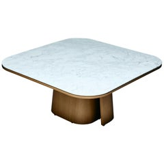 Ooma Dining Table by Reda Amalou Design, 2020, Carrara Marble