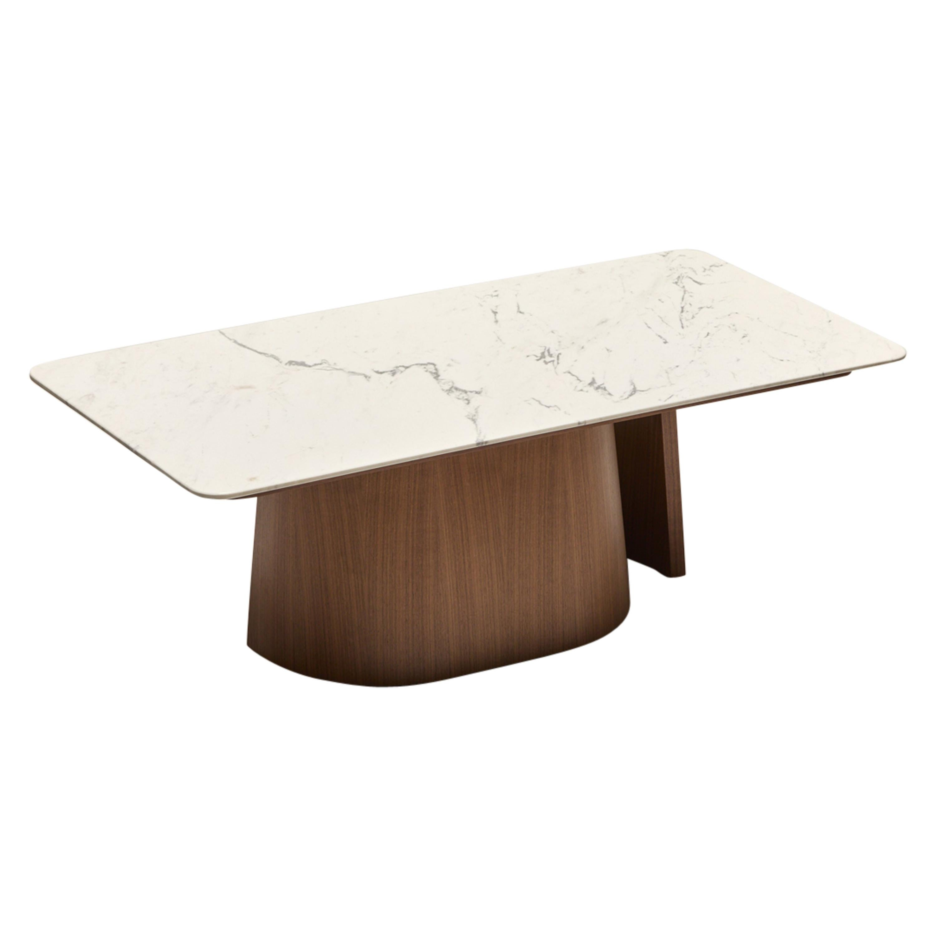 Ooma Side Table by Reda Amalou Design, 2020, Carrare Marble