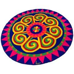 Op Art Luis Montiel Tapestry Rug