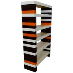 Op Pop Mod DePas Durbino Lomazzi for Kartell Modular Brick Shelf System