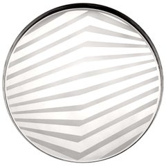 OP Small Serving Platter Silver