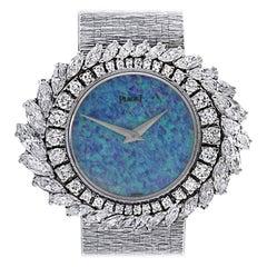 Opal and Diamond Piaget Watch, circa 1970s