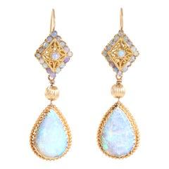 Opal Chandelier Earrings