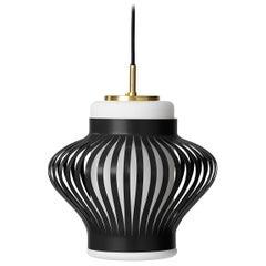 Opal Lamella Pendant Lamp, by Arne Hovmand-Olsen from Warm Nordic