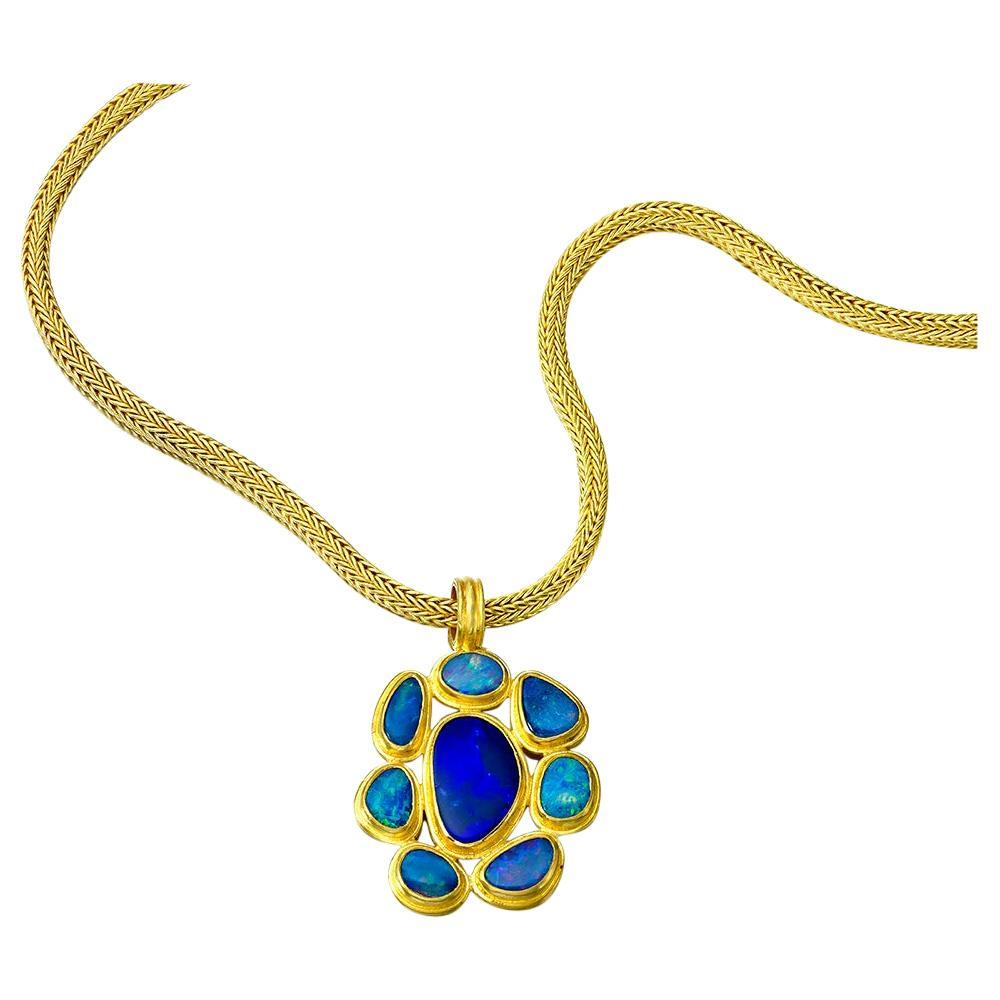 Opal Pendant in 22 Karat gold