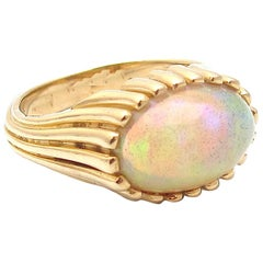 Jacqueline Rose Ridge Opal Ring