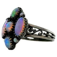 Opal Ring French Arts & Crafts Period