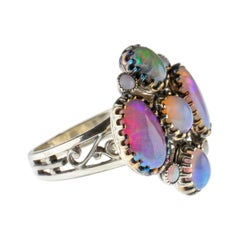 Opal Ring from France, circa 1900