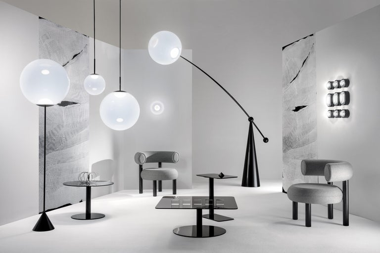 Modern Opal Small Pendant Light by Tom Dixon For Sale