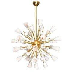 """""""Opalina"""" Murano Glass Sputnik"""