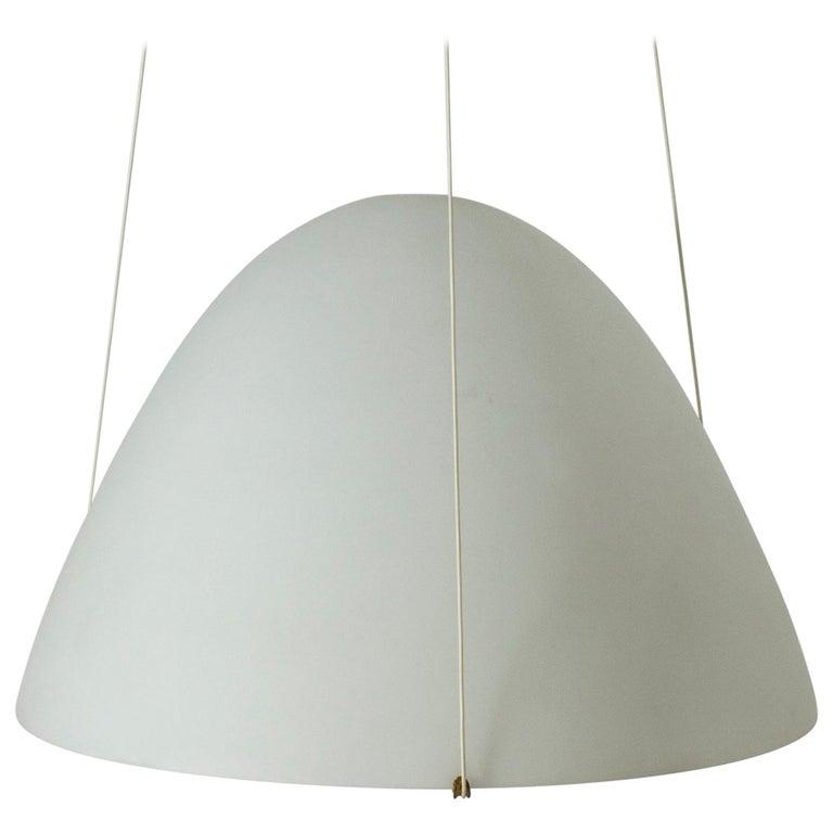 Opaline Glass Ceiling Lamp by Bertil Brisborg For Sale